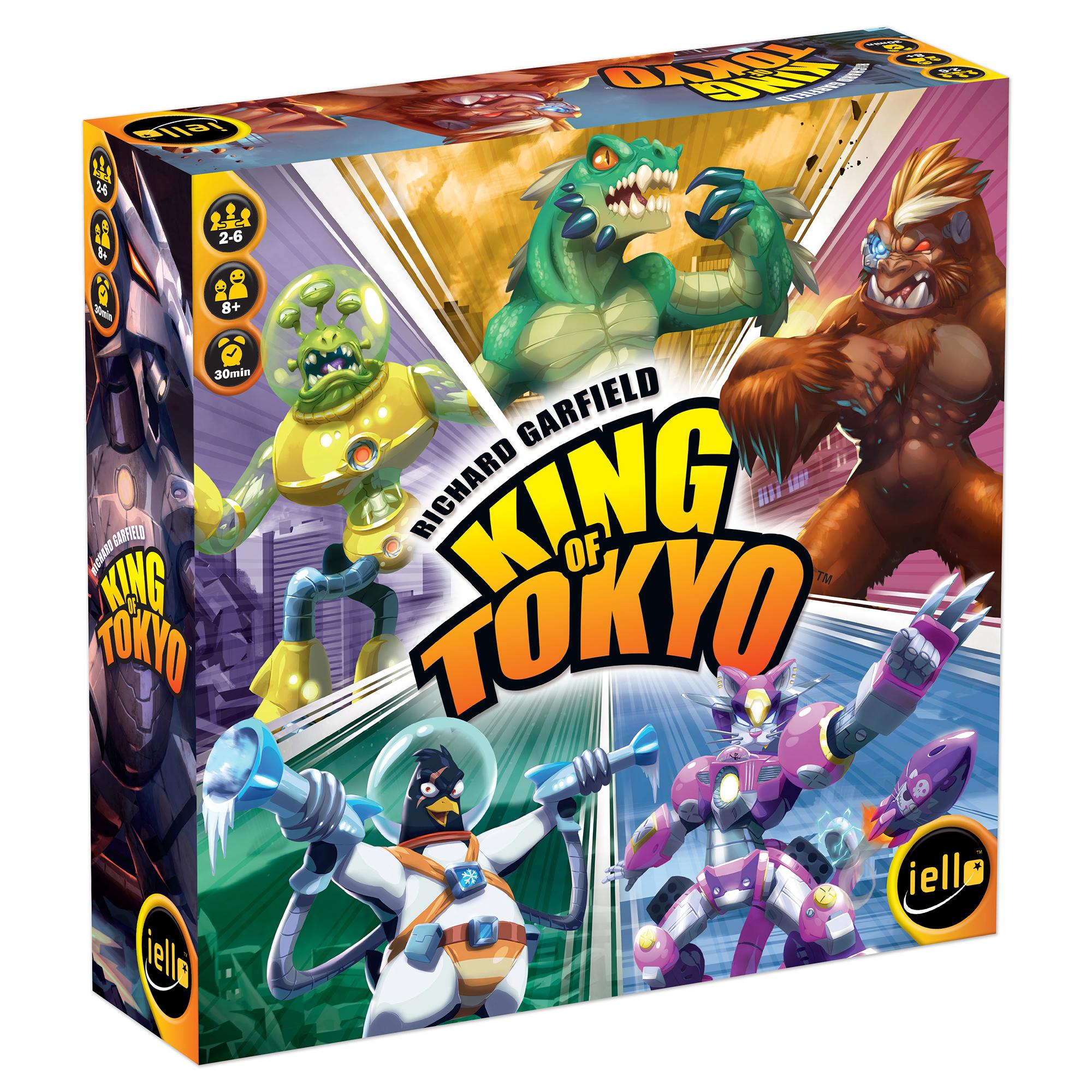 King og Tokyo 2016 spil