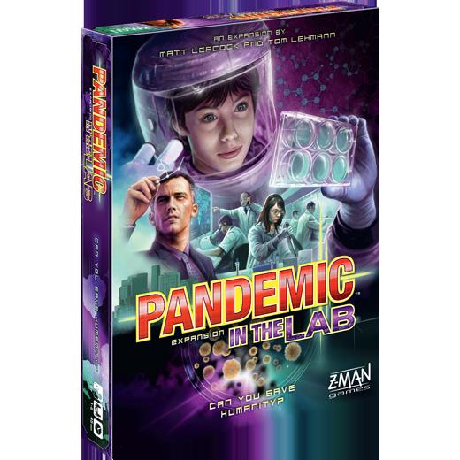 Pandemic in the lab forside månedens spil