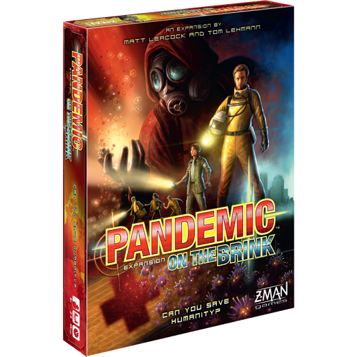 Pandemic on the brink forside månedens spil