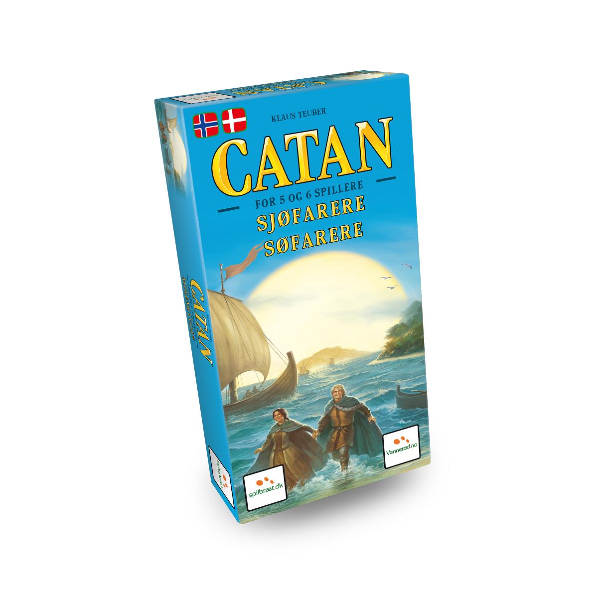 Settlers fra Catan 5-6 spiller udvidelse