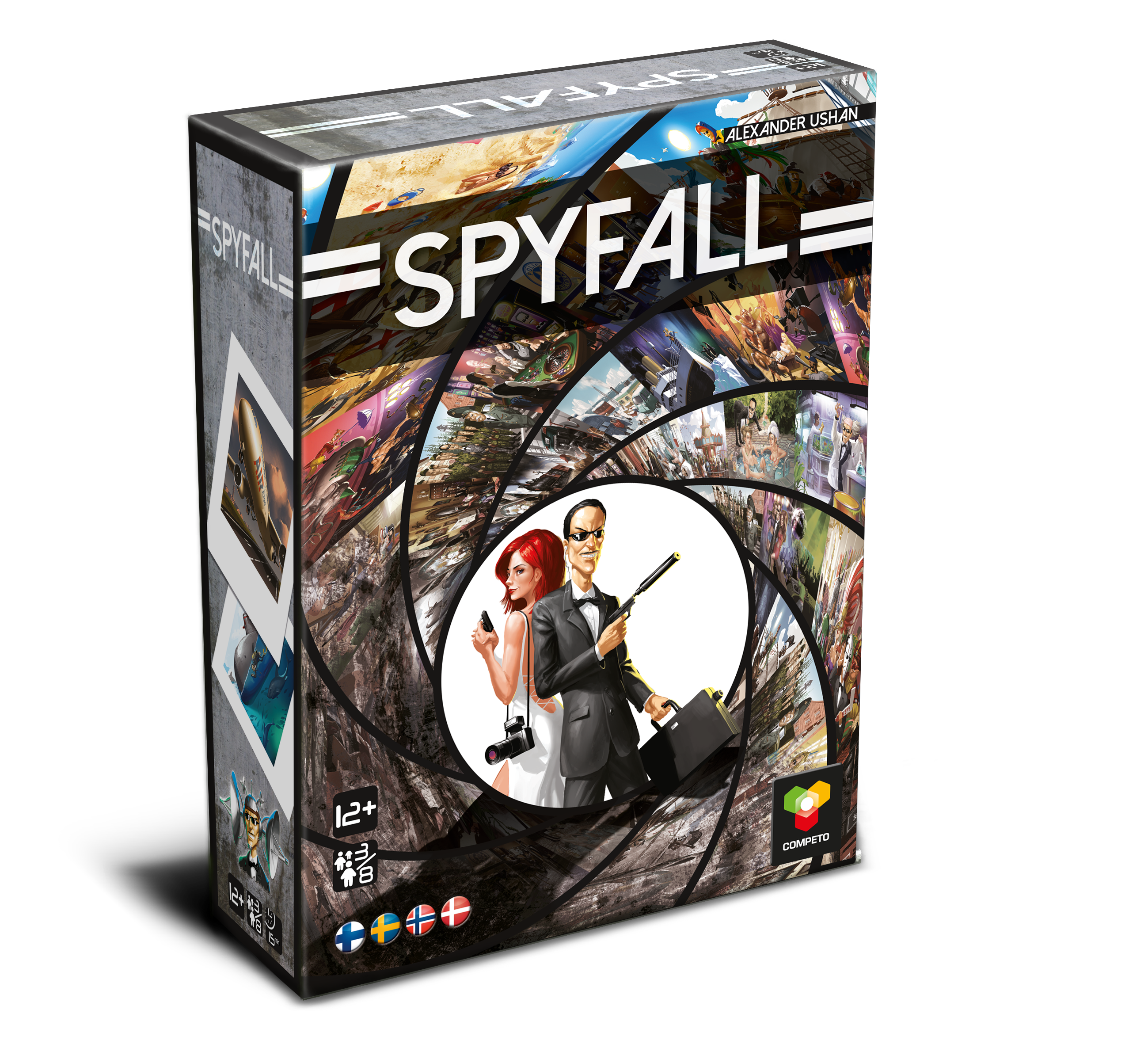 Spyfall-selskabsspil