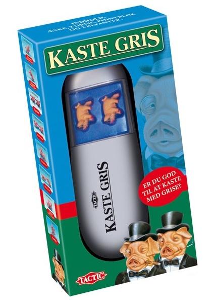 kaste gris spil