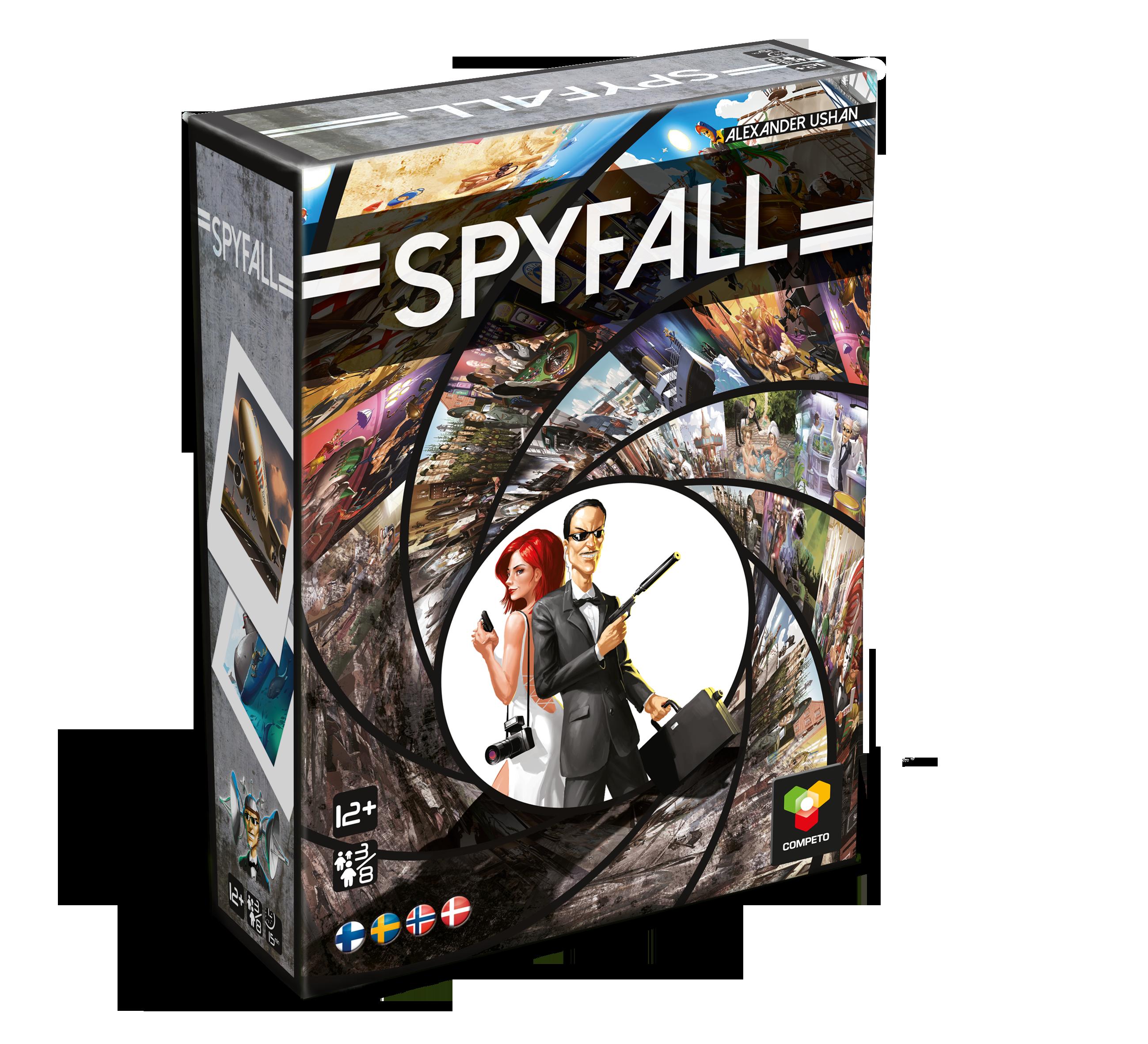 Spyfall-selskabsspil