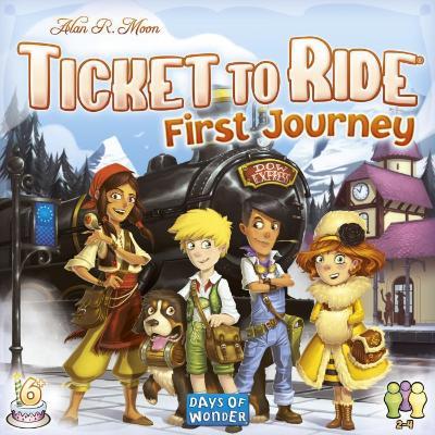 Ticket to Ride first journey børnespil