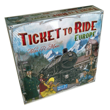 Ticket To Ride EU Modern Classics