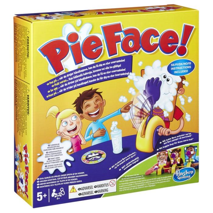 Pie Face børnespil flødeskum